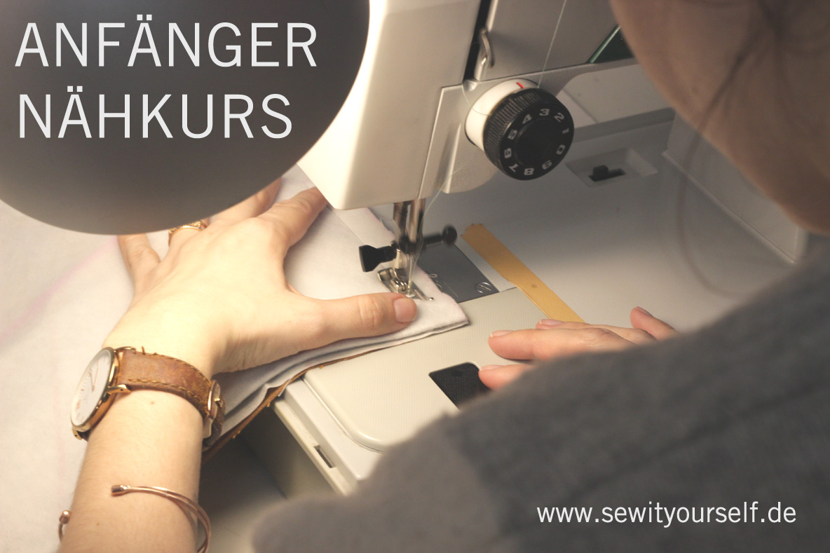 Anfaenger Nähkurs Berlin - sew it yourself -