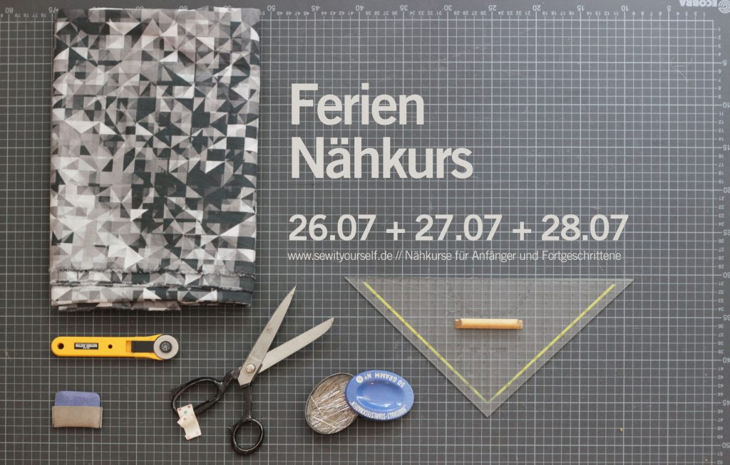 Ferien Nähkurs Berlin sew it yourself