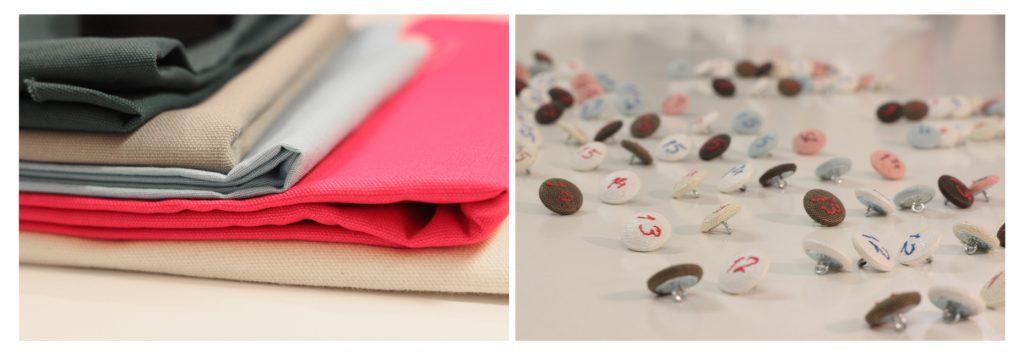 Materialien Adventskalender selber aus Stoff nähen / Sew It Yourself Nähkurse für Anfänger und Fortgeschrittene Berlin
