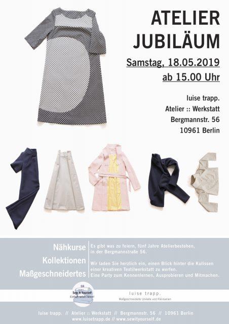 Sew It yourself - Atelier Jubiläum