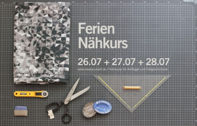 Ferien Nähkurs Berlin sew it yourself