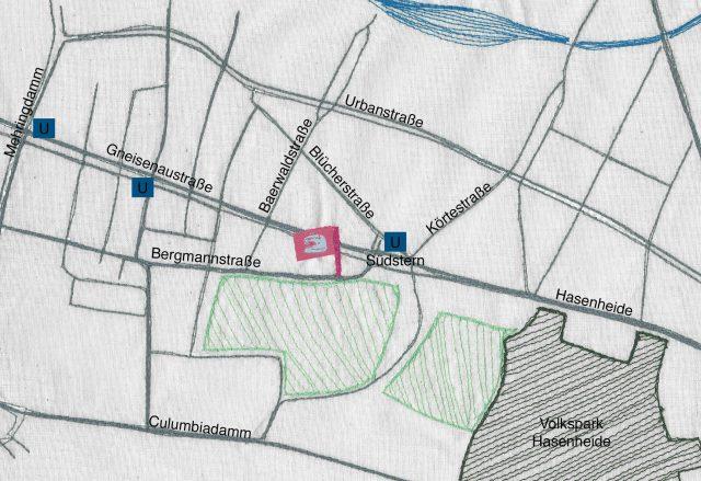 sew it yourself Stadtplan Berlin